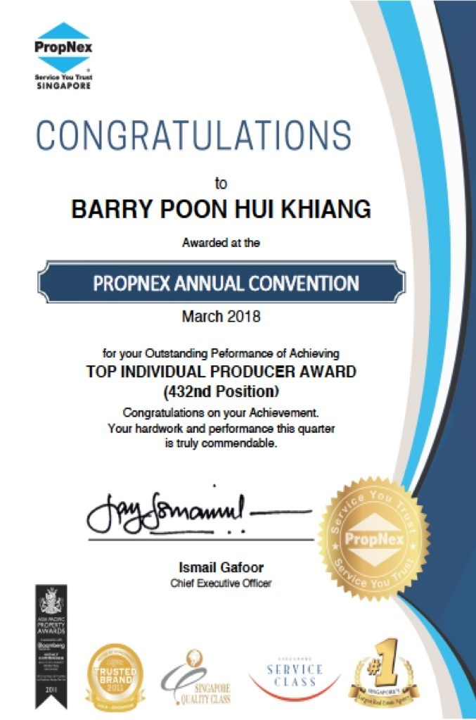 PROPNEX BARRY POON