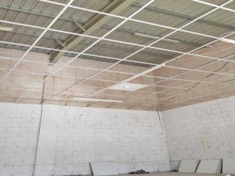 Commercial Warehouse For Rent Ceiling View