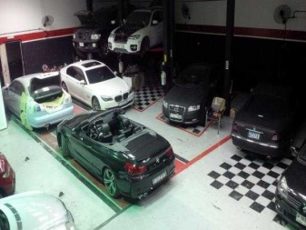 Garage For Rent In Al Quoz Inside View