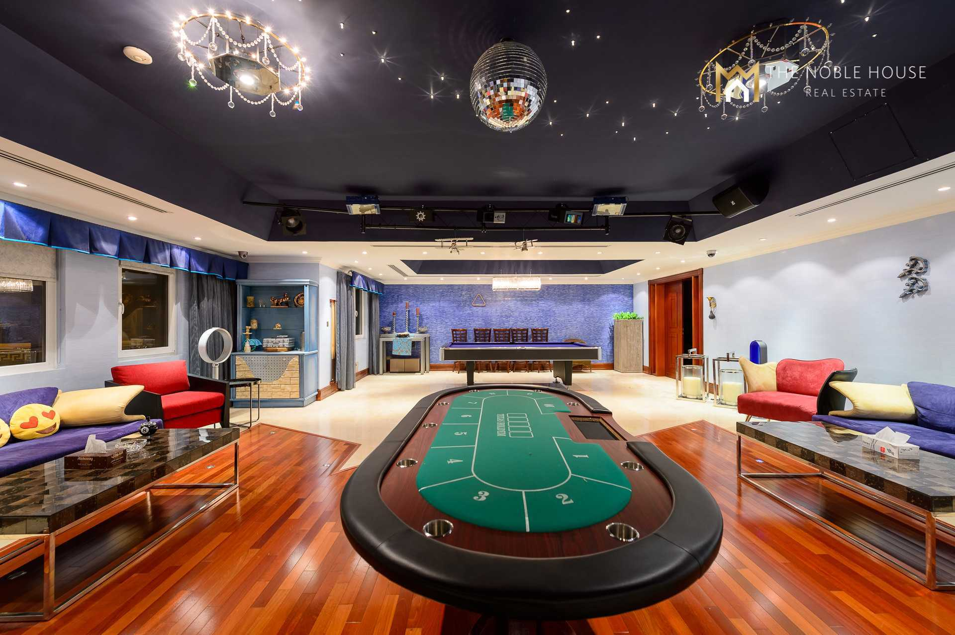 Poker and Pool Table